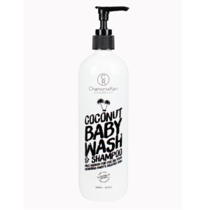 Chamonix Rain Organics Coconut Baby Wash and Shampoo