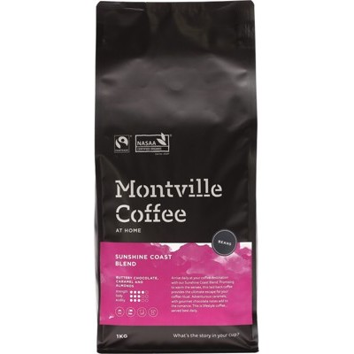 Montville Coffee Beans Sunshine Coast 1kg
