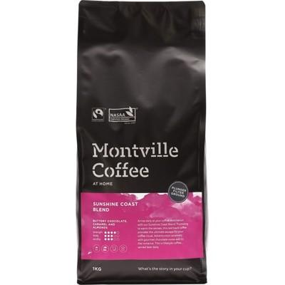 Montville Coffee Plunger Sunshine Coast 1kg