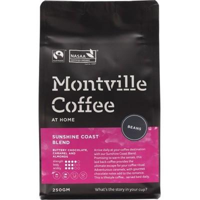 Montville Coffee Beans Sunshine Coast 250g