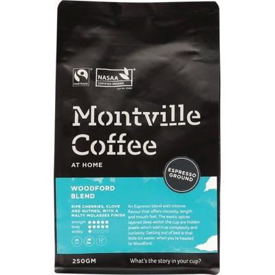 Montville Coffee Woodford Espresso 250g