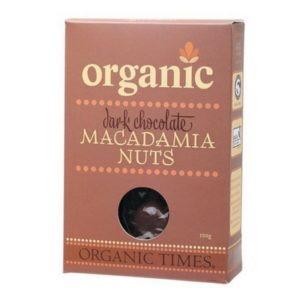Organic Dark Chocolate Macadamia Nuts