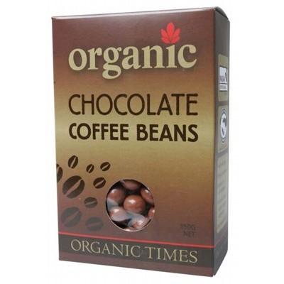 Organic Dark Chocolate Coffee Beans