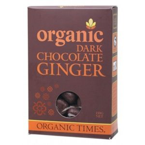 Organic Dark Chocolate Ginger