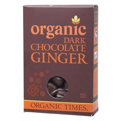Organic Dark Chocolate Ginger