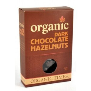 Organic Dark Chocolate Hazelnuts