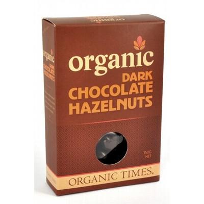 Organic Dark Chocolate Hazelnuts