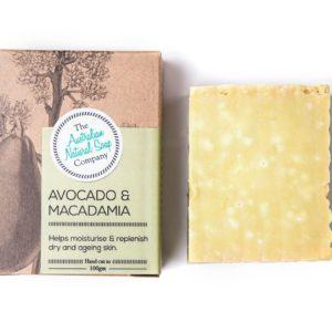 macadamia handmade soap