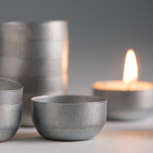 Australian Re-usable Tea Light Tins