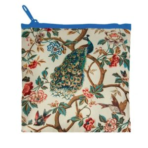 Loqi reusable bag Peacock