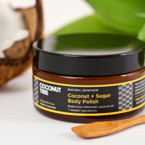 coconut body polish