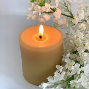 australian beeswax candle