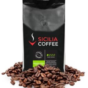 Organic coffee bean